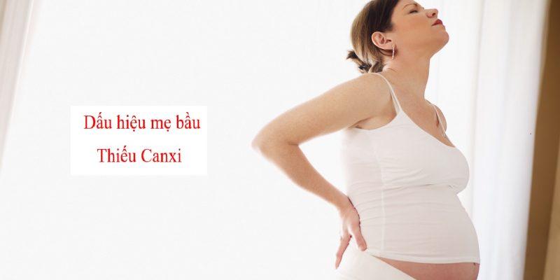 Những dấu hiệu mẹ bầu đang thiếu canxi