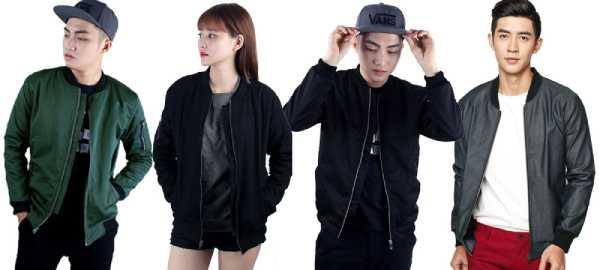 Những mẫu áo khoác được giới trẻ tích cực lăng xê.